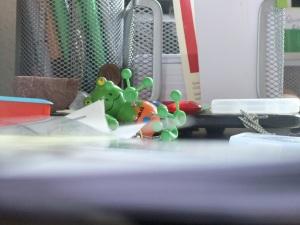 mein Schreibtischchaos